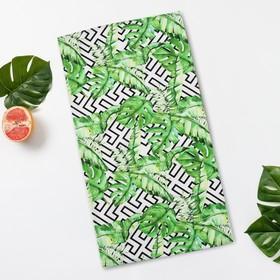 """Towel Ethel """"Geometry"""", 35*65 cm on the loop,reps,density 130 g/m2,100% cotton"""