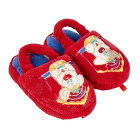 Тапочки детские, цвет красный, размер 29-30