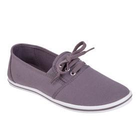 Женские туфли облегченной конструкции, цвет серый, размер 38