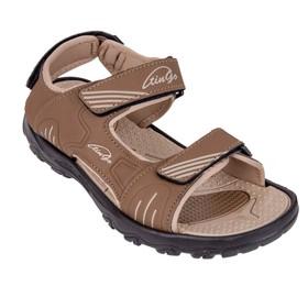 Anklets for students, color brown / beige, size 39
