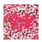 """Пакет """"Весенний аромат"""", полиэтиленовый с вырубной ручкой, 45х45 см, 65 мкм - фото 151645965"""