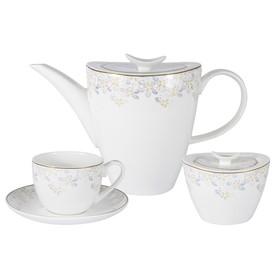 Чайный набор «Перламутр», 14 предметов