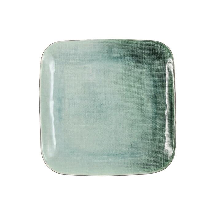 Тарелка обеденная квадратная Canvas 27 см