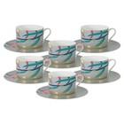 Чайный набор «Восточная лилия», 12 предметов