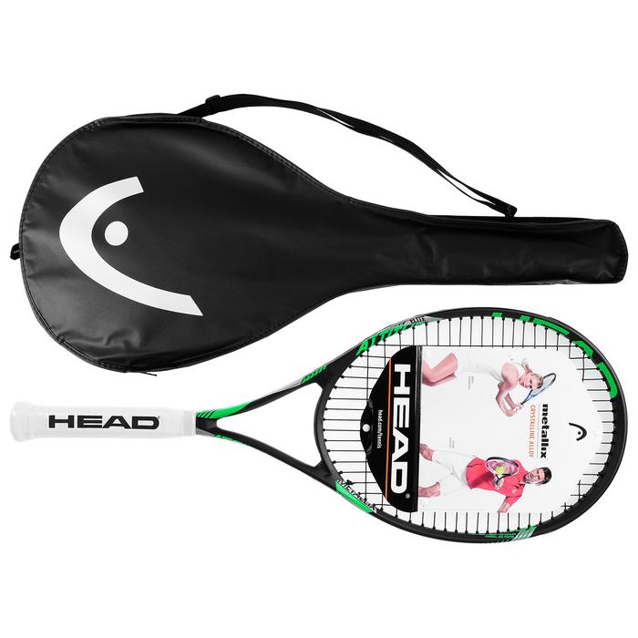 Ракетка для большого тенниса HEAD MX Attitude Elit Gr3, для любителей, композит, цвет зелёный, 232657