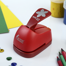 "Hole punch shaped ""Flower"", diameter of cut-out pieces 25 mm"
