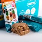 Протеиновая конфета BOMBBAR, фундук/финик/лён, 18 г