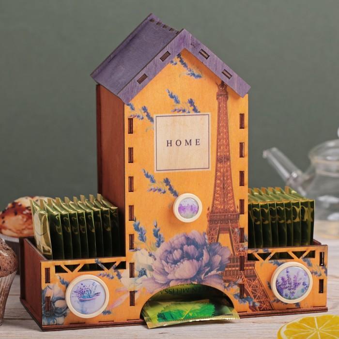 """Чайный домик с декором """"Париж"""""""
