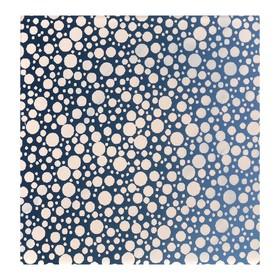 Зеркало облицовочное «Капли», с лазерной гравировкой, 10 × 10 см Ош