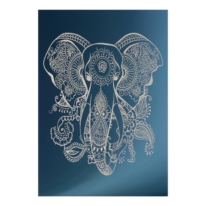 Зеркало декоративное «Слон», с лазерной гравировкой, 21×30 см