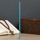 Свечи праздничные, пасхальные, голубые, 25 шт