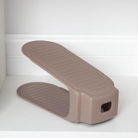 Подставка для хранения обуви, 26,5×13×13 см, цвет МИКС