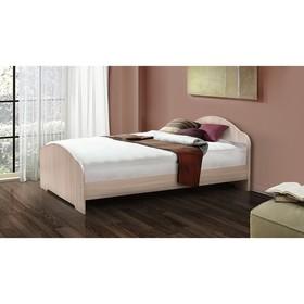 Кровать на уголках №1, 700 × 1900 мм, цвет млечный дуб