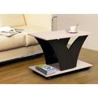 Стол журнальный №16, 900 × 500 × 600 мм, цвет венге / молочный дуб
