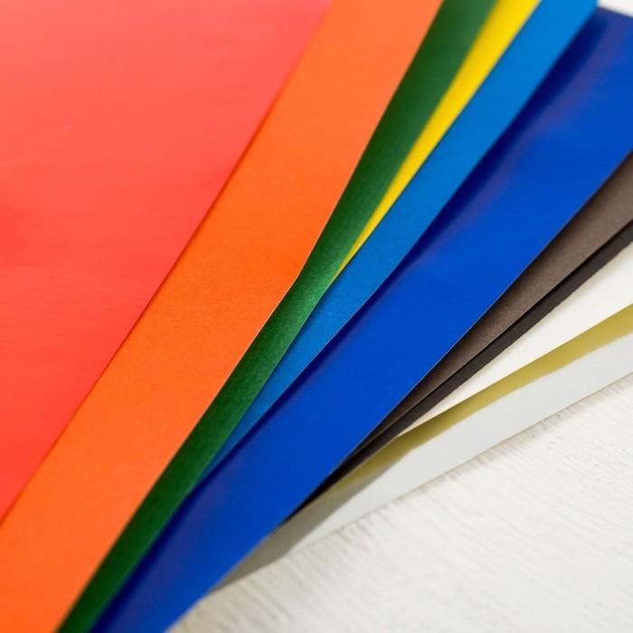 Бумага самоклеящаяся цветная А4,10 листов,10 цветов, СМЕШАРИКИ - фото 543770167
