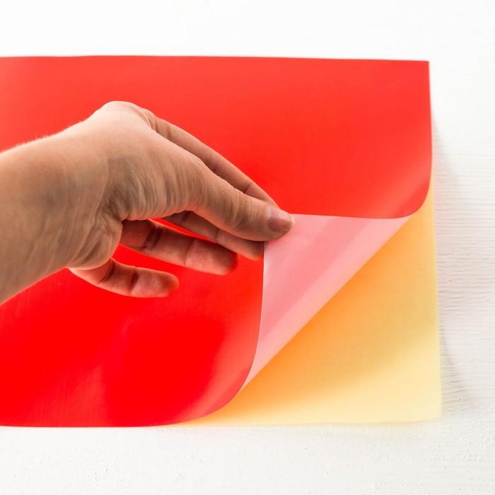 Бумага самоклеящаяся цветная А4,10 листов,10 цветов, СМЕШАРИКИ - фото 543770166