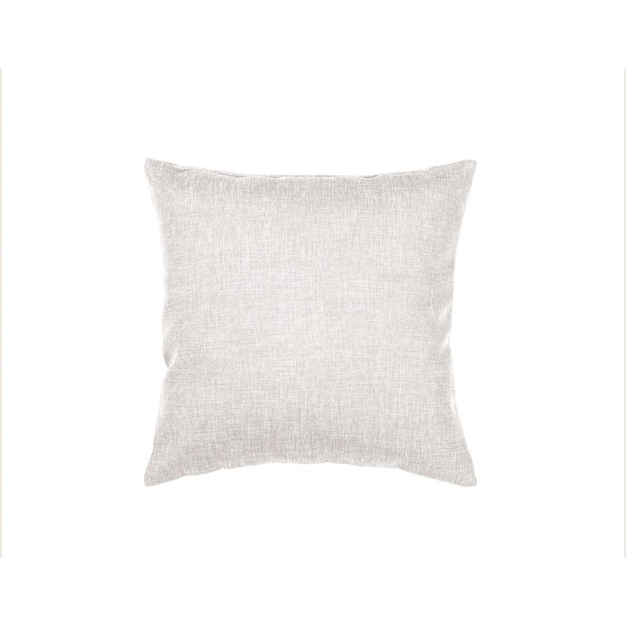 Подушка декоративная, размер 40 × 40 см, рогожка, цвет экрю - фото 7929555