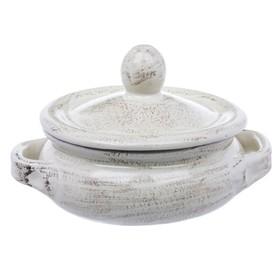 Кастрюля с крышкой «Капуччо», 15.5 см, 0.7 л, с 2-мя ручками