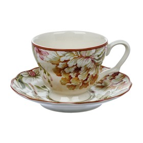 Чашка с блюдцем «Пенелопа», 200 мл