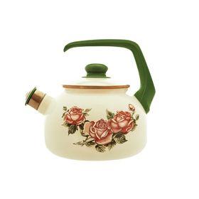 Чайник со свистком «Роза», 2,5 л УЦЕНКА