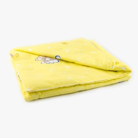 Одеяло, размер 110х140 см, бязь/холлофайбер