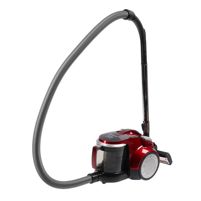Пылесос Sakura SA-8313R, 2200/350 Вт, 2.5 л, циклон, HEPA-фильтр, красный