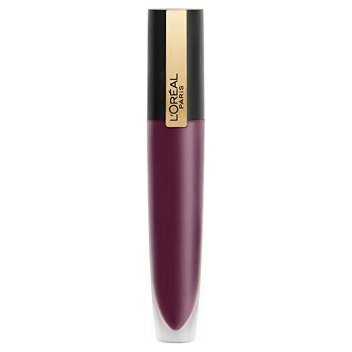 Помада-тинт для губ L'Oreal Rouge Signature Matte 103 «Я наслаждаюсь» фиолетовый