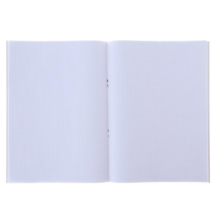 Тетрадь А4, 96 листов клетка Calligrata «Хаки», офсет №1, белизна 100%, картонная обложка - фото 537610389