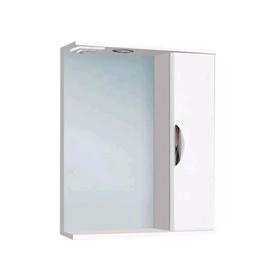 """Шкаф-Зеркало """"Ника 700 свет"""" Правый арт.11212"""