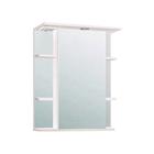 "Шкаф-Зеркало ""Лира 600 "" Правый, белый, без подсветки арт.10235"
