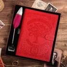 """Подарочный набор """"Родословная книга нашей семьи"""", с пером и чернилами"""