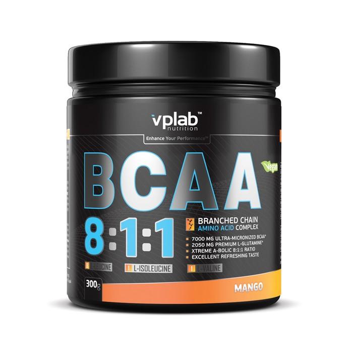 Аминокислоты VPLAB BCAA 8:1:1 / 300 g / манго