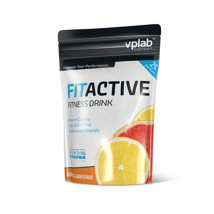 Изотоник VPLAB FitActive Fitness Drink, лимон/грейпфрут, 500 г