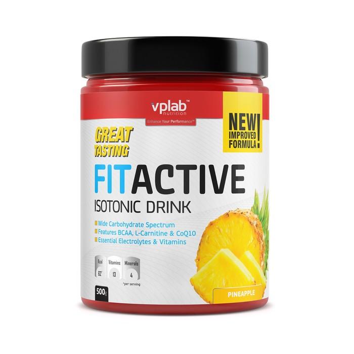 Изотоник VPLAB FitActive Isotonic Drink / 500 g ананас