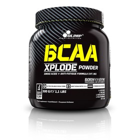 Аминокислоты OLIMP BCAA Xplode Powder / 500 g / клубника