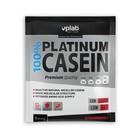 Протеин VPLAB 100% Platinum Casein sachet / 30 g / клубника