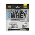 Протеин VPLAB 100% Platinum Whey sachets / 30 g / без запаха