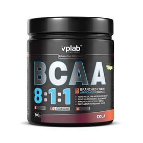 Аминокислоты VPLAB BCAA 8:1:1 / 300 g / кола