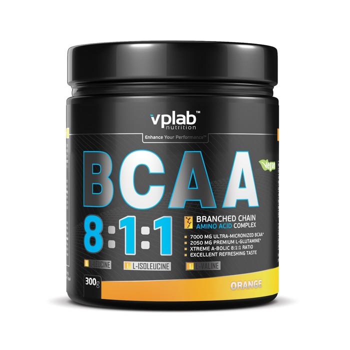 Аминокислоты VPLAB BCAA 8:1:1 / 300 g / апельсин