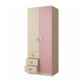 """Шкаф 800 """"Радуга"""", фламинго, 800х2000х546"""