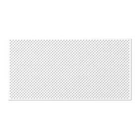 Панель декоративная перфорированная, без рамки, Глория, белый, 1112х512 мм