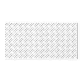 Панель декоративная перфорированная, без рамки, Готико, белый, 1112х512 мм