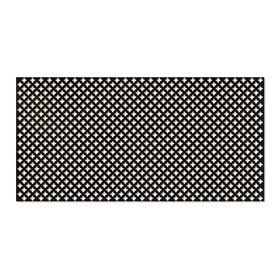 Панель декоративная перфорированная, без рамки, Готико, венге, 1112х512 мм