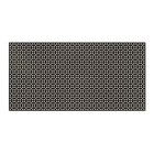 Decorative perforated panel, without frame, Susanna, wenge, 120х60 cm