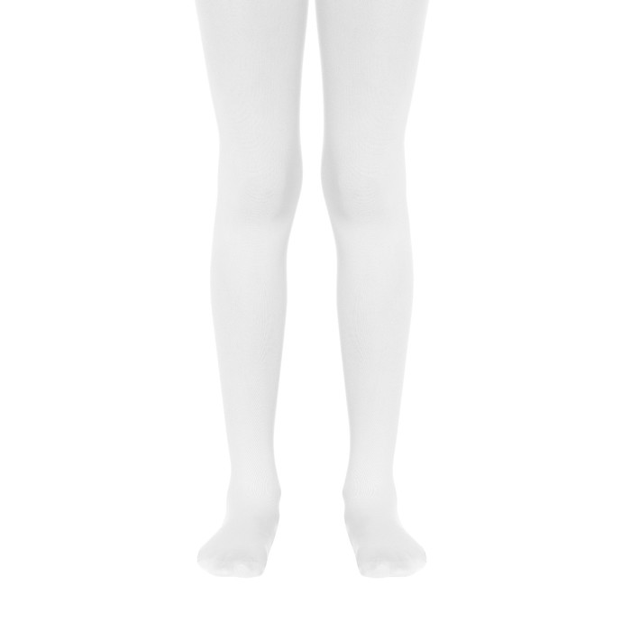 Колготки детские нарядные CE PRINCESS 40 цвет белый (bianco), рост 116-122