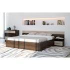 Спальня «Уют-1», кровать 160 см, 2 тумбы, комод, цвет кантербери-сонома