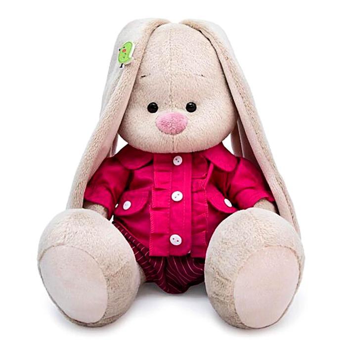 Мягкая игрушка «Зайка Ми» в курточке и шортиках, 18 см - фото 105615991