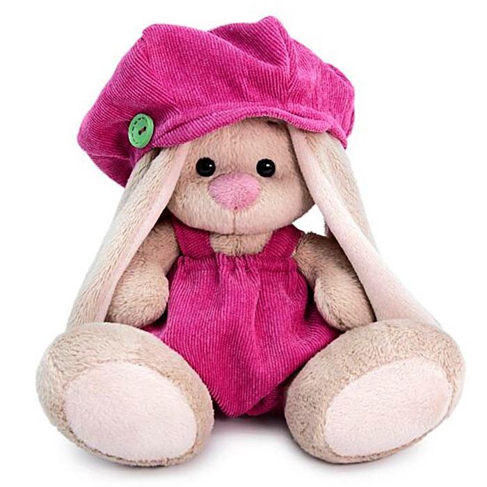 Мягкая игрушка «Зайка Ми» в штанишках и кепке ,15 см - фото 4467461