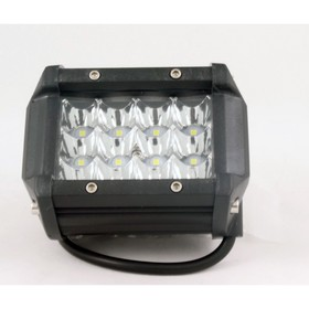 Фара светодиодная OFF ROAD, KS-CL-312 W, 95x55x70 мм 12 диодов, 36 W, Ош