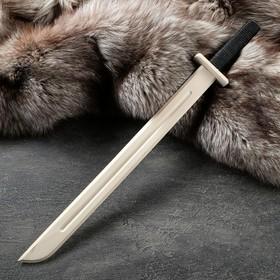 """Сувенир деревянный """"Катана"""", 60 см, массив бука"""